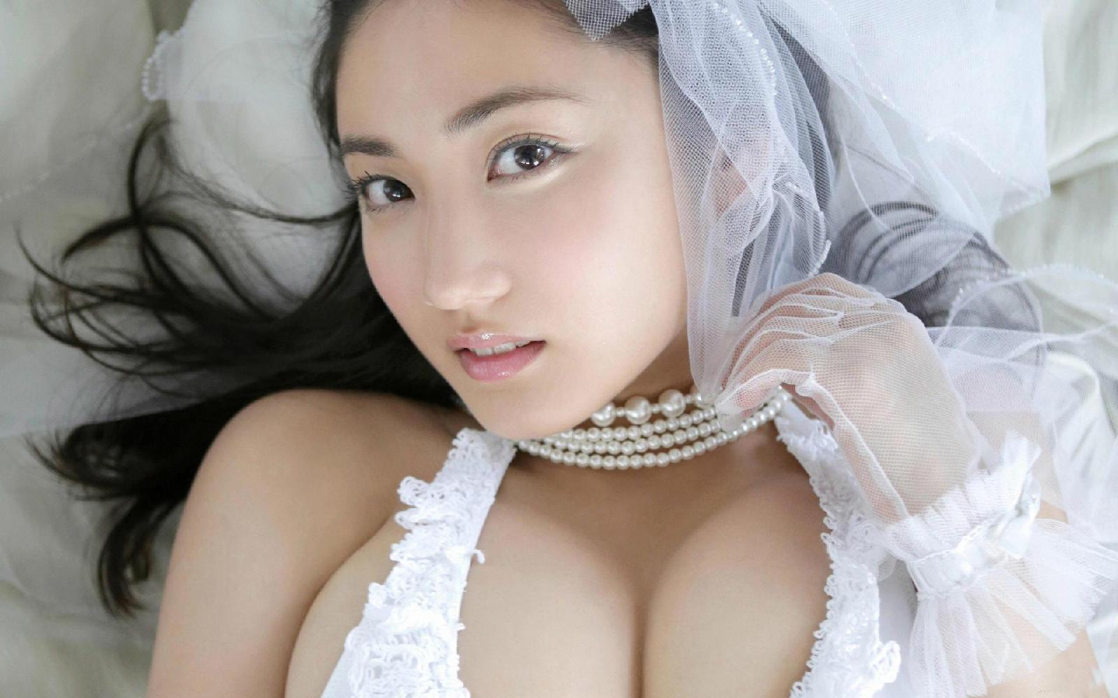 日本美少女入江纱绫写真壁纸