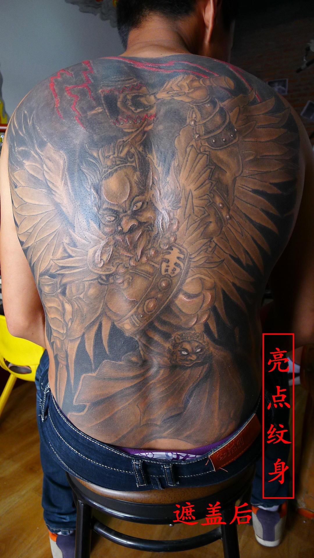 八面佛纹身图片
