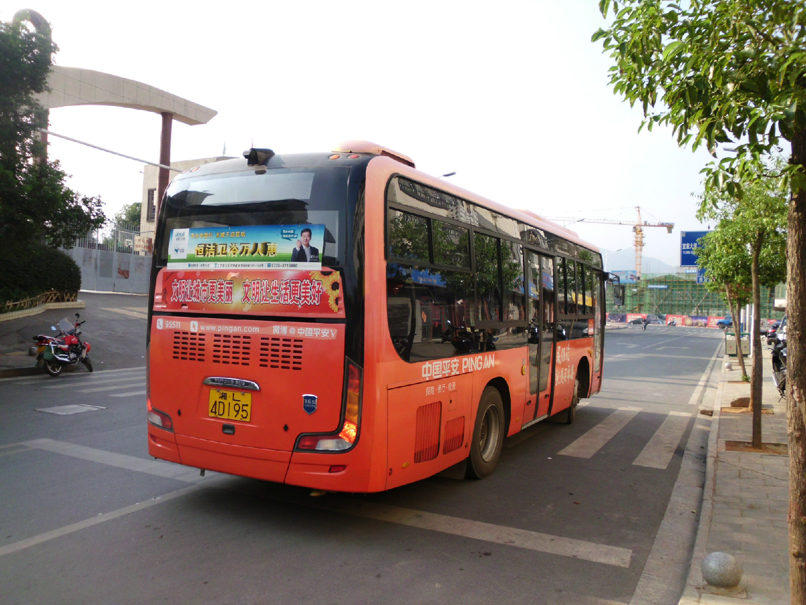 宜章公交车