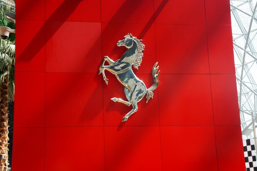 法拉利车的标志 ferrari logo高清图片