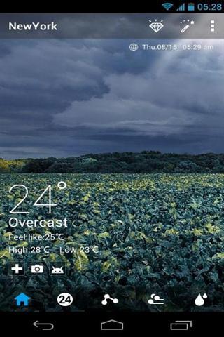 免費個人化App|自然奖赏动态天气壁纸|阿達玩APP
