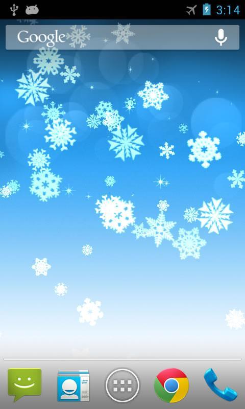 雪花动态壁纸