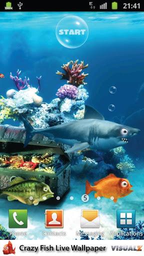 疯狂热带鱼动态壁纸