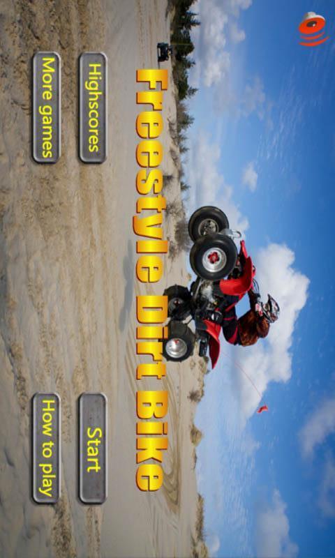 自由式越野摩托车