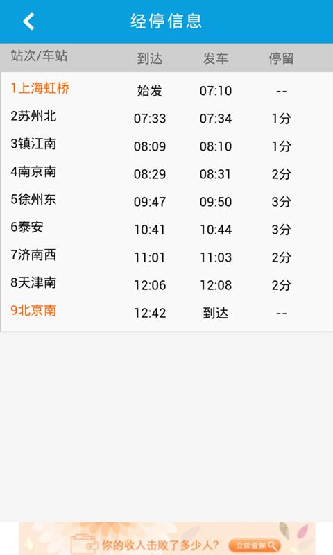 8684火车-应用截图