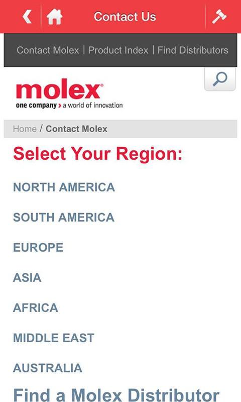 Molex-应用截图