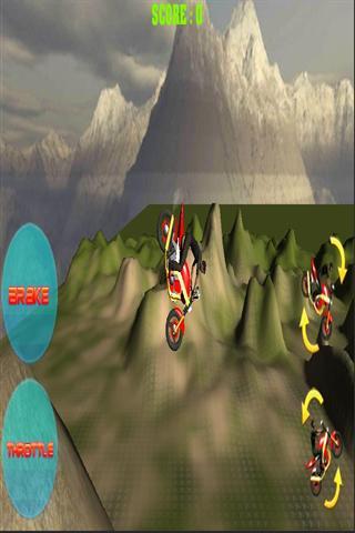 越野摩托车3D-应用截图