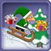 圣诞滑雪游戏 棋類遊戲 App LOGO-APP試玩