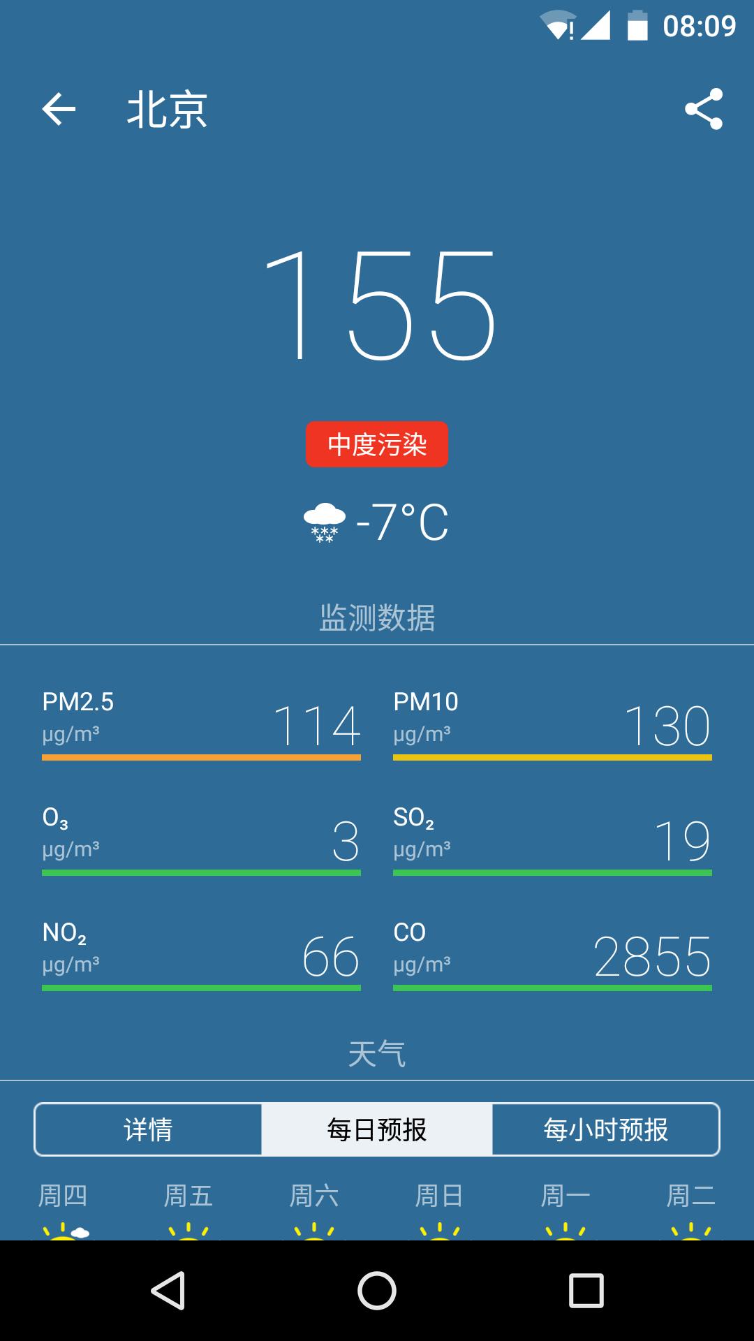空气质量-应用截图