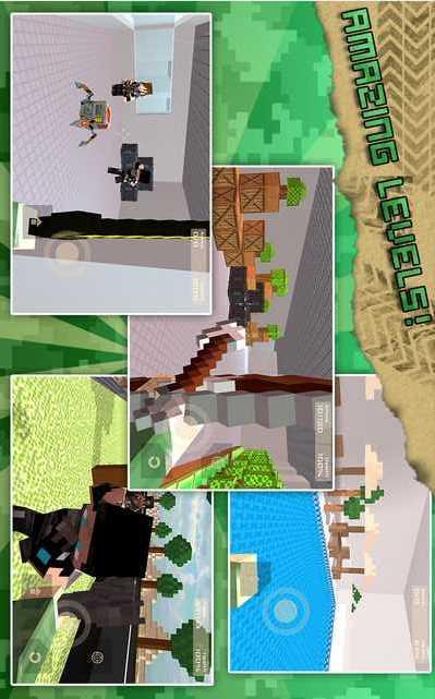 像素行动:不同的游戏-应用截图