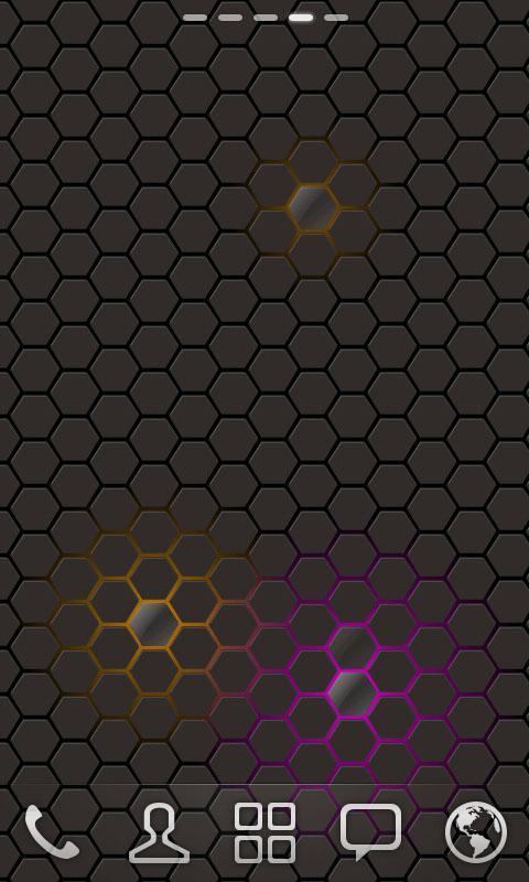GO桌面-蜂巢动态壁纸