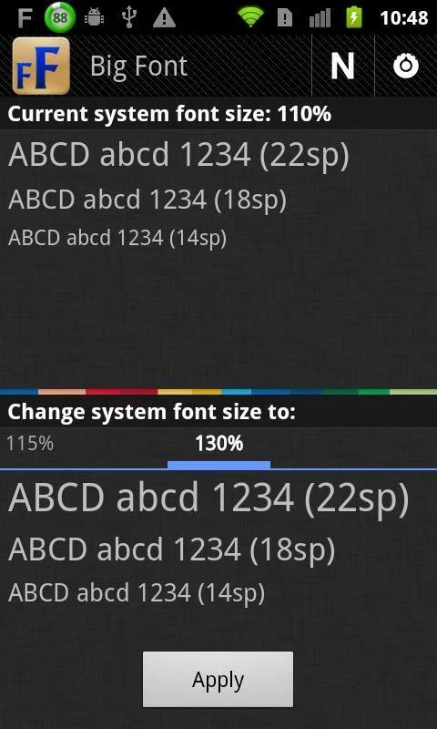 改变系统字体大小|玩工具App免費|玩APPs