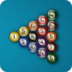 2D黑8桌球(经典版) 體育競技 App LOGO-APP試玩