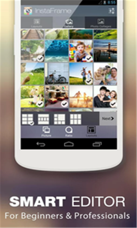 InstaFrame 攝影 App-癮科技App