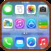IPhone 5 s主题 個人化 App LOGO-APP試玩