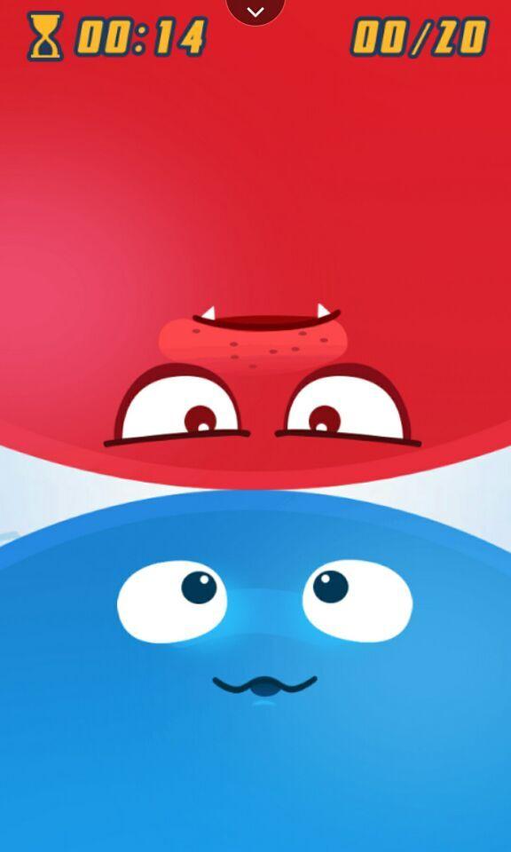 红蓝大作战之顶翻小胖子-应用截图