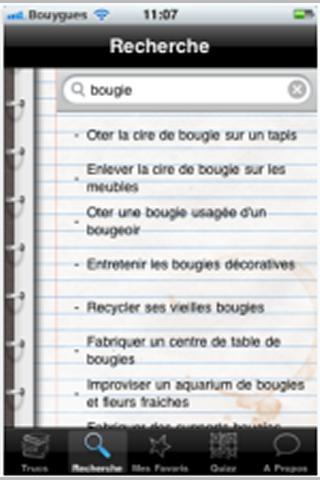 Trucs de Grand-Mère-应用截图