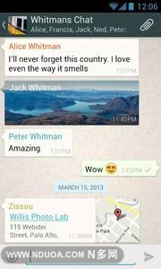 WhatsApp-应用截图