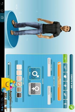 【免費遊戲App】模拟人生之自由行动-APP點子