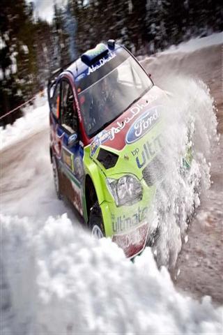 雪越野赛 车 壁纸
