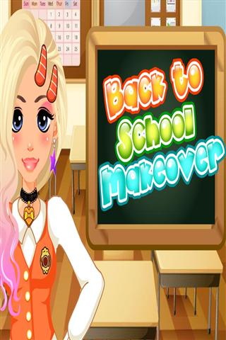 化妆游戏 Back To School Makeover Game