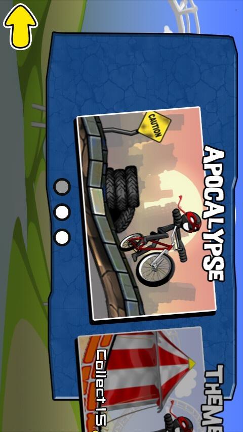 火柴人骑单车