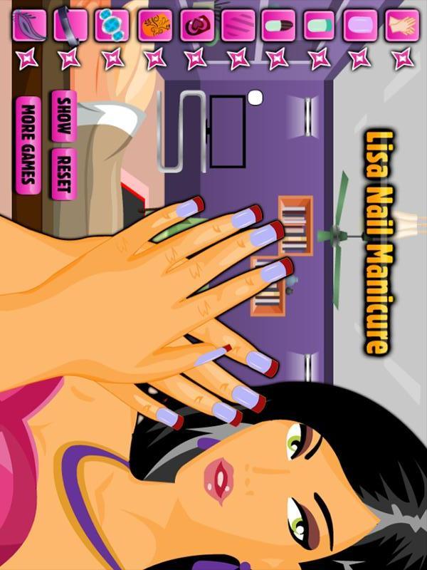 丽莎美甲游戏|玩遊戲App免費|玩APPs
