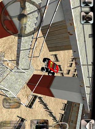 怪物卡车停车场3D