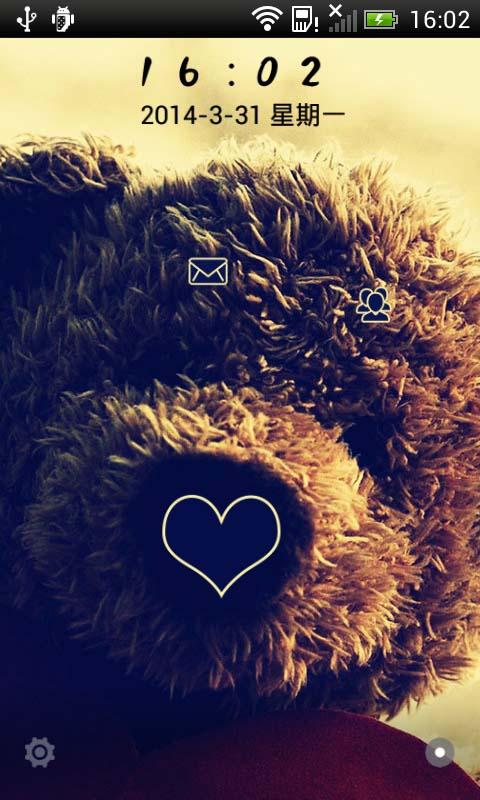 LOVE Bear-桌面主题 美化版