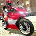 街道摩托车骑手3D
