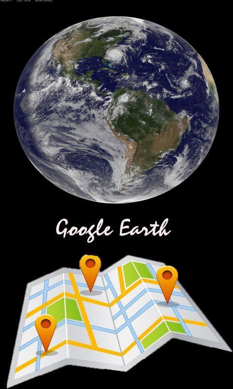谷歌地图卫星地图 高清版