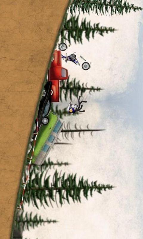 【免費體育競技App】火柴人下坡:越野摩托车-APP點子